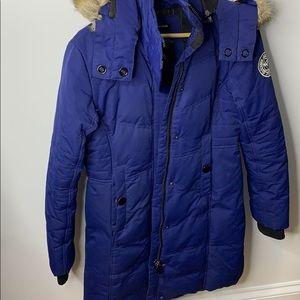 Noize royal blue winter heavy duty jacket size s